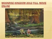 moonrise kingdom 2012 Full Movie Online
