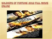 soldiers of fortune  2012 Full Movie Online