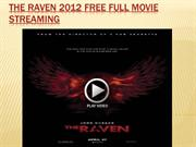 the raven 2012 free full movie streaming