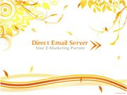 Email Marketing - Bulk Email Service - Direct Email Server