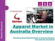 apparel marketin australia overview