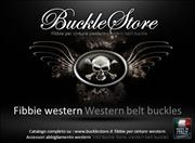Fibbie per cinture Western & accessori abbigliamento Western