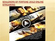 Souldiers of fortune 2012 online streaming