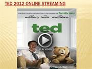 ted 2012 online streaming