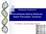 Molecular Breeding_Marker in Plant Breeding DR2010rev