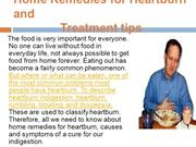 Home Remedies for Heartburn and