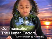Human Factors in Communication