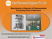 Paan Pharmatech Engineers Private Limited Maharashtra India