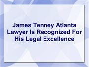 James Tenney Atlanta Lawyer