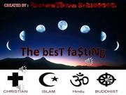 Fasting in Different Religions'12