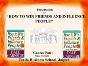presentation on how to win friends & People