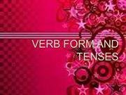 Verb Tenses