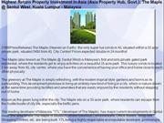 Highest Return Property Investment In Asia (Asia Property Hub, Govt