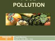 FOOD POLLUTION