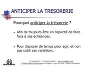 Anticiper la trésorerie