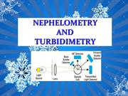 NEPHLOMETRY and TURBIDIMETRY PPT 1