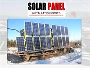 Solar Panels Cost