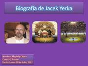 Biografa de Jacek Yerka MAYERLY