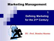 Defining marketing ch1