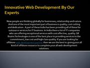 Innovative Web Development By Our Experts