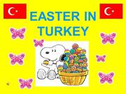 Easter in Turkey