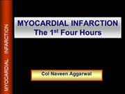 Copy of MYOCARDIAL INFARCTION