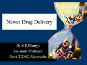 Newer Drug Delivery System