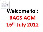 RAGS Review 2011 version 2