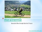 Morzine-mtb guided biking tour
