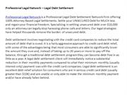 Professional Legal Network – Legal Debt Settlement