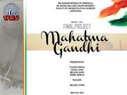 Final Project Mahatma Gandhi (Internet) (No sound)