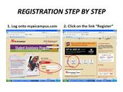 REGISTRATION STEP BY STEP