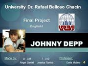 Final Proyect about Johnny Depp