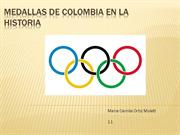 Medallas de colombia en la historia
