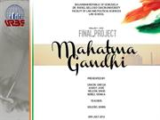 Final Project Mahatma Gandhi - Internet
