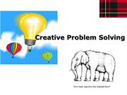 Creative Problem Solving McGregor