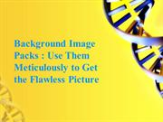 Background Image Packs