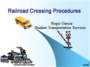 Railroad Crossing Procedures