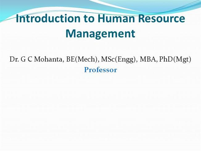 an introduction to human capital Introduction in current global human capital theory the theory of human capital is rooted from the field of macroeconomic development a model of human capital.