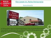 Red Carpet Inn Ronks Pennsylvania