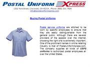 Buying Postal Uniforms - Postal Uniform Xpress