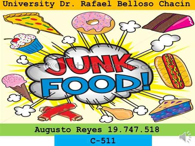 Poster On Junk Food Vs Healthy Food
