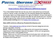 Postal Uniforms- What is Offered as USPS Worker Apparel