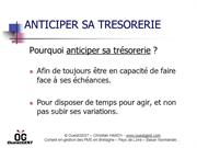 Anticiper sa trésorerie