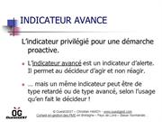 Indicateur avancé