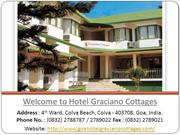 Hotel Graciano Cottages, budget hotels in Goa near Colva beach