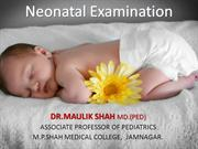 new born examination- m
