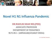 Novel H1 N1 Influenza Pandemic