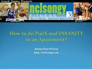 How to do P90X and INSANITY in an Apartment