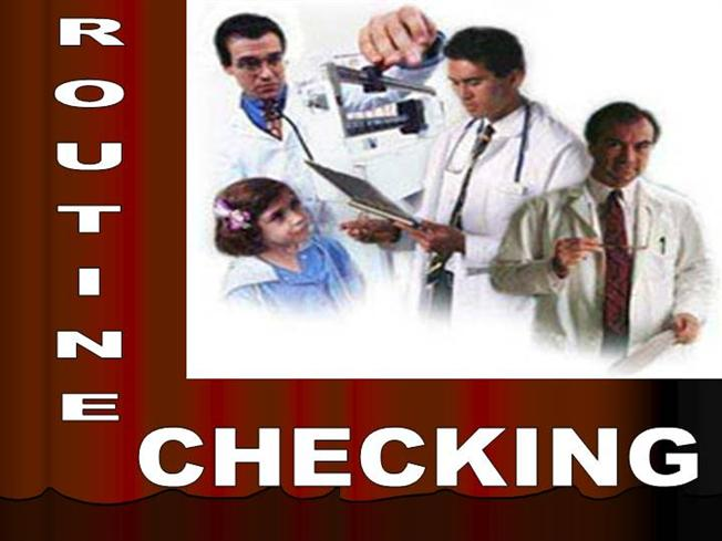 routine checking in auditing